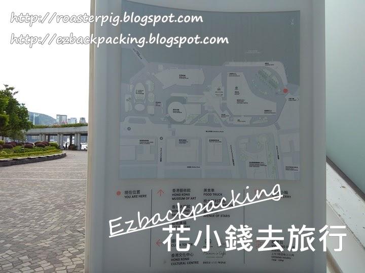 香港文化中心地圖