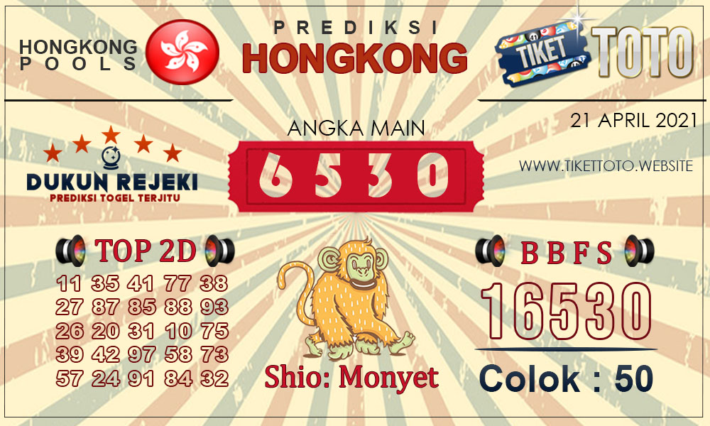 Prediksi Togel HONGKONG TIKETTOTO 21 APRIL 2021