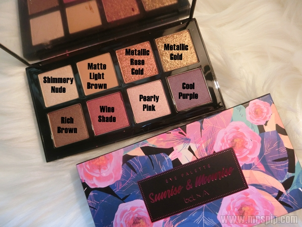 Eye Palette Sunrise and Moonrise BCL x Althea
