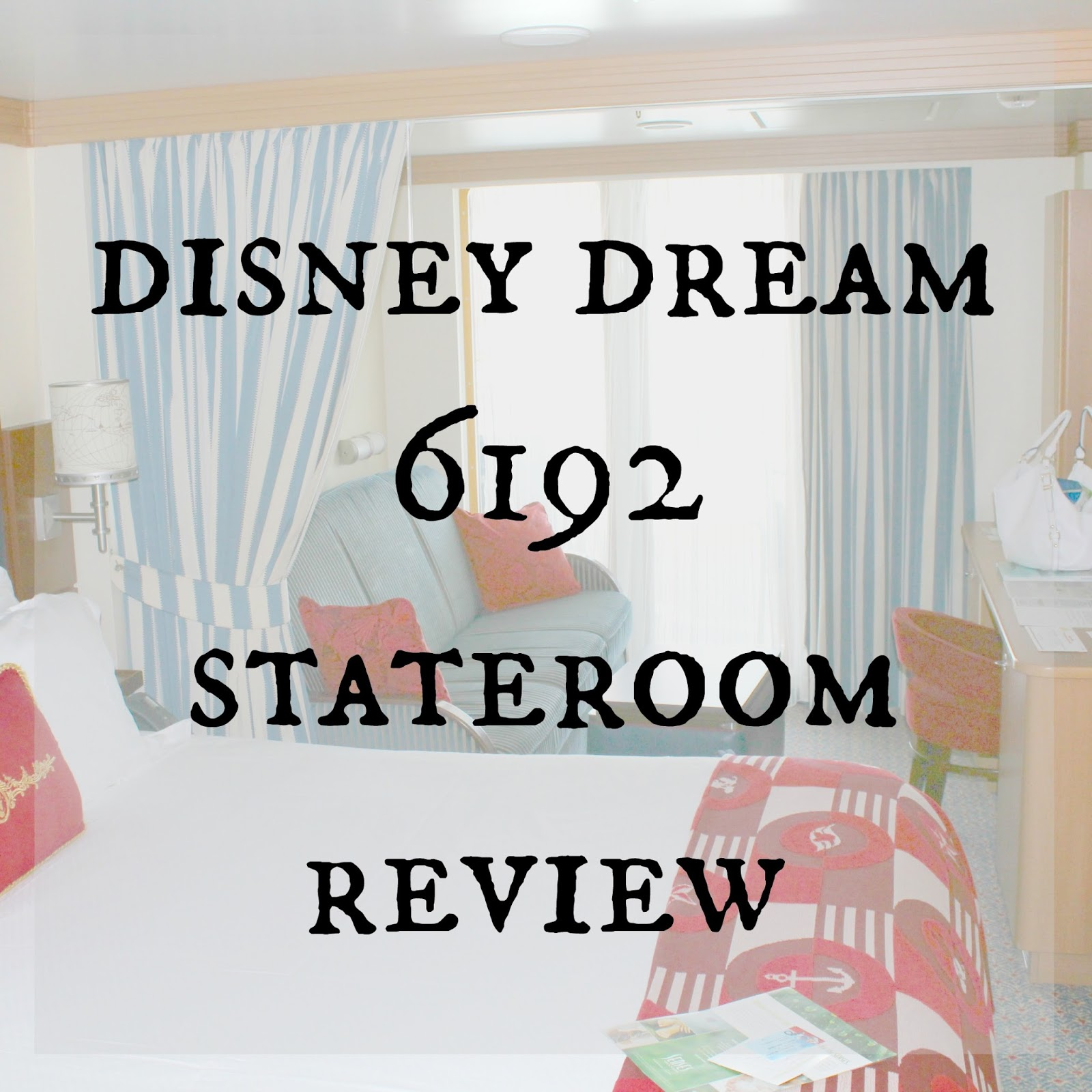 Caravan Sonnet Disney Dream 6192 Stateroom Review
