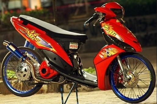 Modif Modifikasi Motor Mio J Drag Bike Terbaru 2019