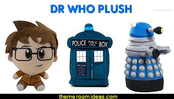 Dr. Who plush tardis plush dr who accessories dr who decor dr who decorations Plush TARDIS