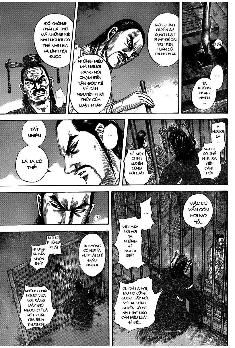 Kingdom chapter 494 trang 13