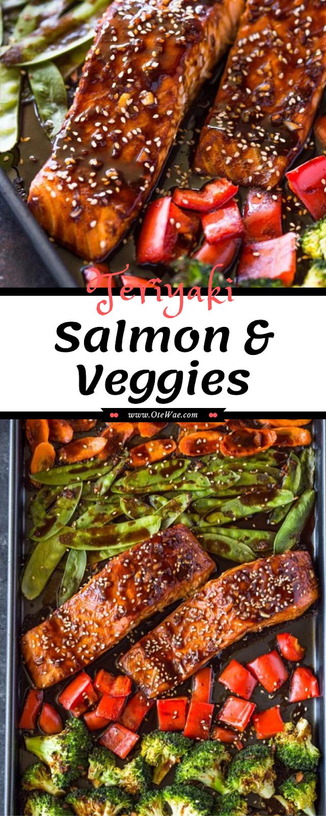 Teriyaki Salmon & Veggies