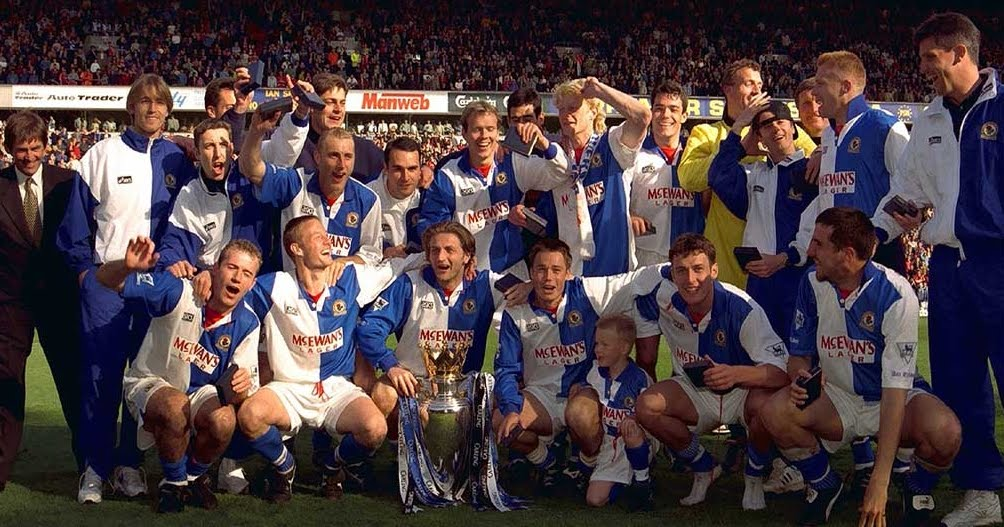 premier league champions blackburn rovers 1994/95 squad