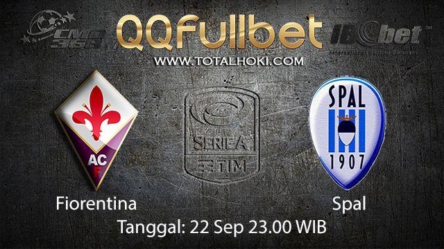 Prediksi Bola Jitu Fiorentina vs Spal 22 September 2018 ( Italian Serie A )