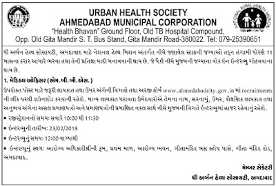 urban-health-society-ahmedabad-recruitment