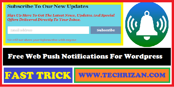 Free Web Push Notifications For Wordpress