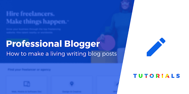 Make your blog look professional blog