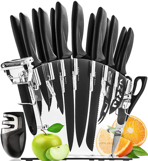 13 Kitchen Knives Set