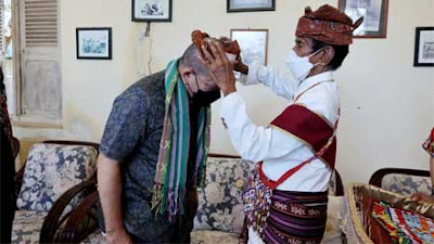 Dikunjungi Ketua DPD RI, Raja Kupang Titip Pesan untuk Presiden Jokowi