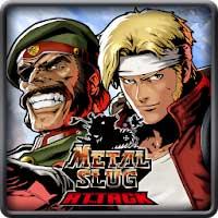 لعبة حرب الخليج METAL SLUG ATTACK Apk Mod للاندرويد,