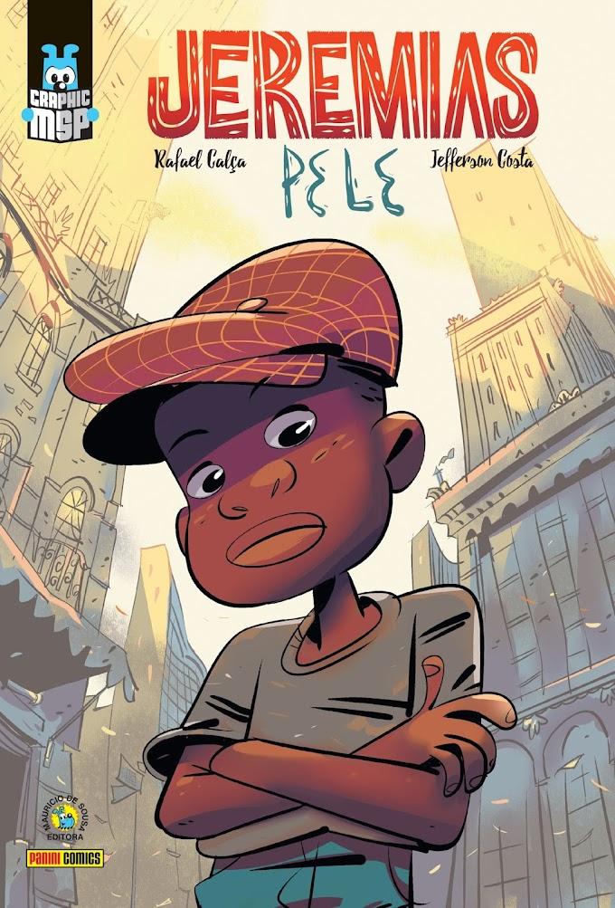 Lançamento da Graphic MSP: Jeremias - Pele, racismo na infância e na vida adulta