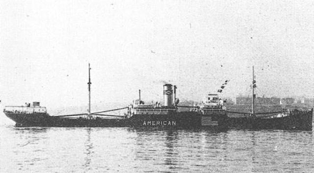 Ore freighter City of Alma, sunk on 3 June 1942 worldwartwo.filminspector.com