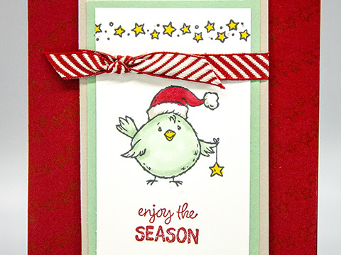 Enjoy the Season - Stampin' Up! Birds of A Feather Stamp Set