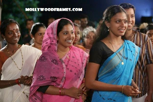 Anusree in the movie 'Pedithondan'