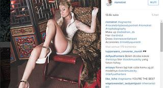 Foto Kebaya Agnes Monica Tahun 2016 Sensasional di Instagram