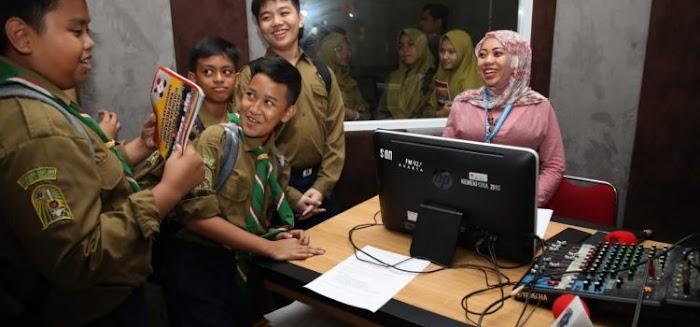 Sebanyak 54 Pelajar SMP Muhammadiyah 9 Jakarta Kunjungi Kemenpora