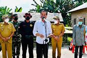 Pangdam1/BB Dan Kapoldasu , Dampingi Presiden RI Tinjau Vaksinasi Door to Door Di Sumut