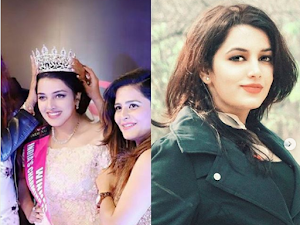 UPSC topper, Garima Yadav is the winner of Miss Charming Face Beauty Pageant, 2017