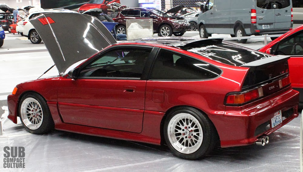 Custom Honda CRX from the Portland International Auto Show