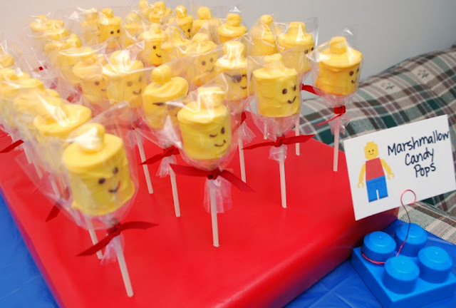 The ultimate LEGO birthday party!