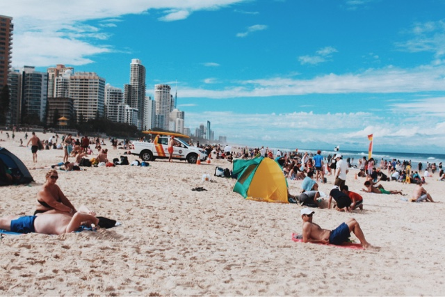 Surfers Paradise @ Gold Coast, Queensland, Australia 黃金海岸衝浪者天堂 澳洲澳大利亞昆士蘭