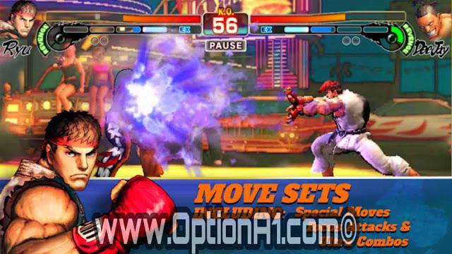 تنزيل لعبة ستريت فايتر 4 للاندرويد Street Fighter 4 Full Mod Apk [Unlocked]
