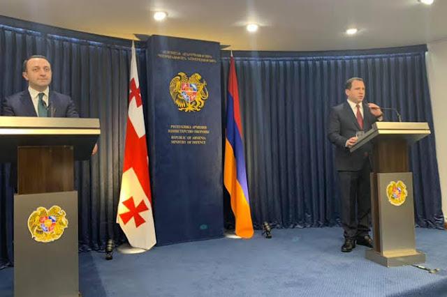 Armenia y Georgia firman acuerdo de cooperación militar 2020