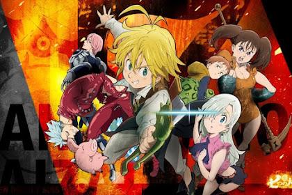 Anime Nanatsu no Taizai Season Ketiga akan tayang di musim gugur
