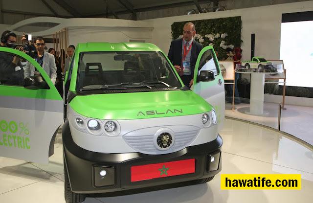 العثماني : سيارة كهربائية مغربية 100%