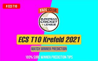 VG vs KCH 1st Match Krefeld 2021 Dream11 Team Prediction, Fantasy Cricket Tips