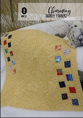 Charming baby quilt from Make Modern Magazine