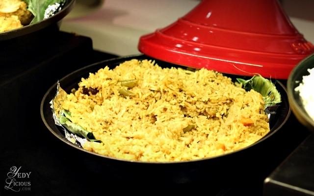 Biryani, Indian Food Buffet at HYATT COD Manila