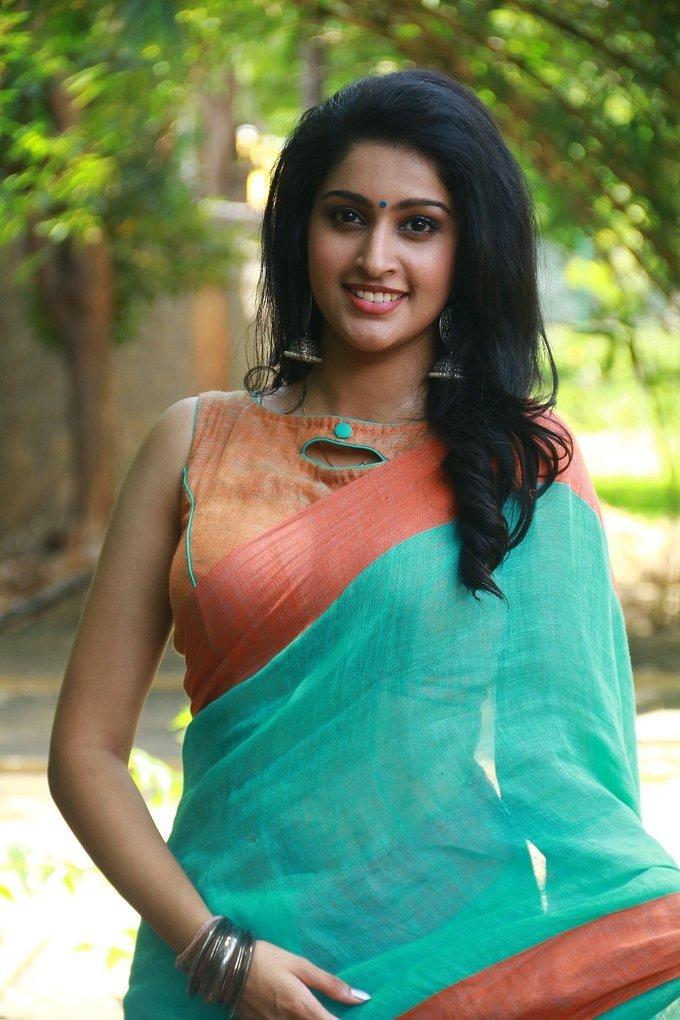 Actress Tanya at Karuppan Movie Press Meet Pictures Gallery