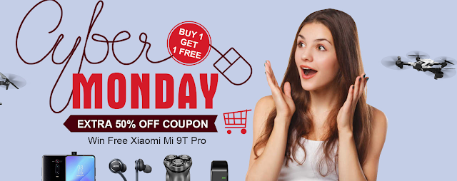 Consulta a Cyber Monday na Tomtop