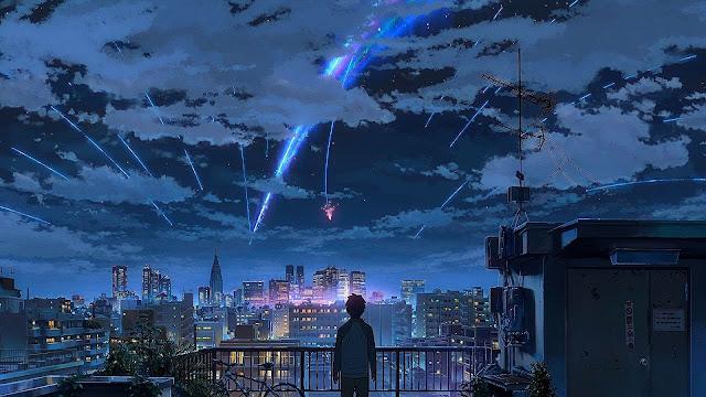 aesthetic background anime