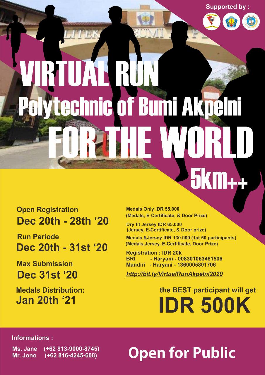 Virtual Run Akpelni • 2020