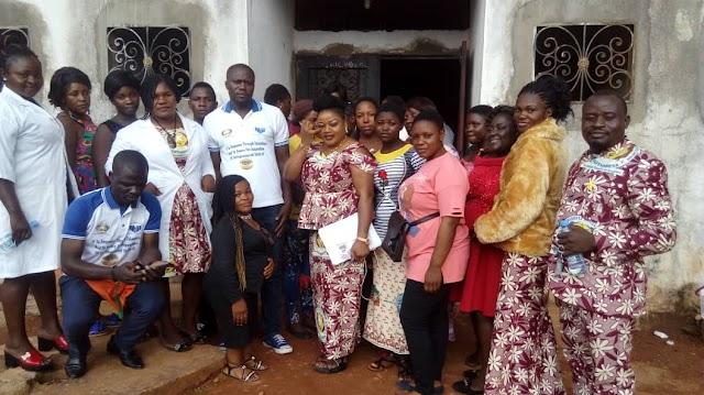 GOTHSBESA teaches Internally Displaced women how to fish