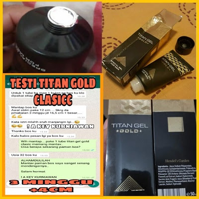 titan gel gold classic version