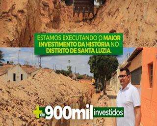 Santa Luzia do Seridó, distrito de Picuí já recebeu investimentos superior a 1 milhão de reais