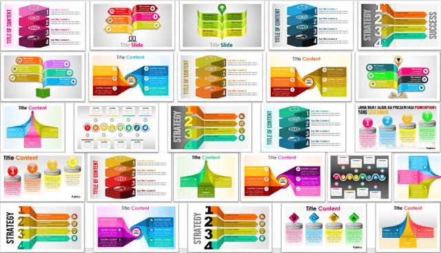 Contoh Slide Presentasi PowerPoint 3 Dimensi yang Menarik