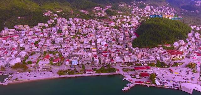 H Ηγουμενίτσα απο ψηλά, στιγμές απο ένα 24ώρο - Πτήση με Drone