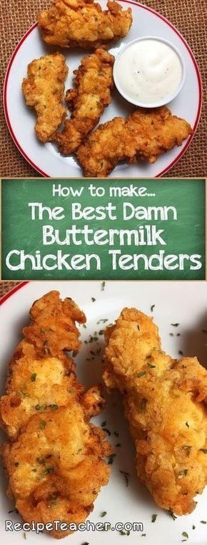 Best Damn Buttermilk Chicken Tenders