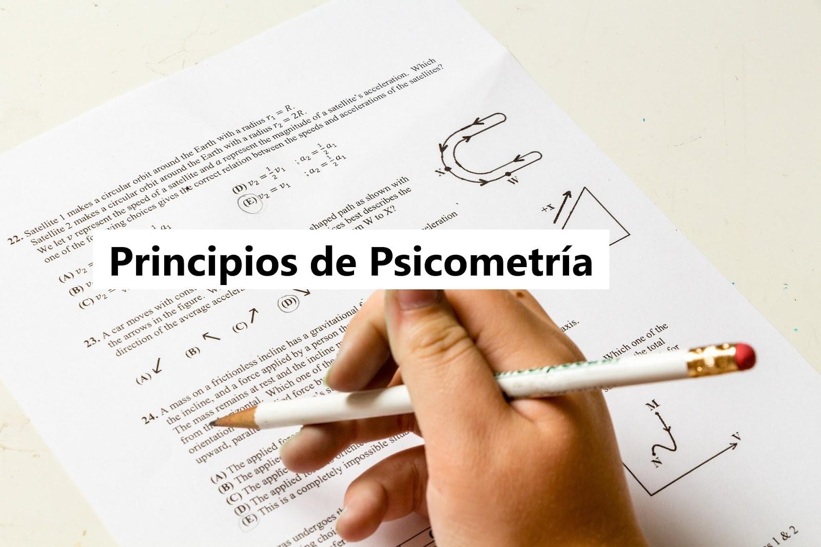 PRINCIPIOS DE PSICOMETRÍAF