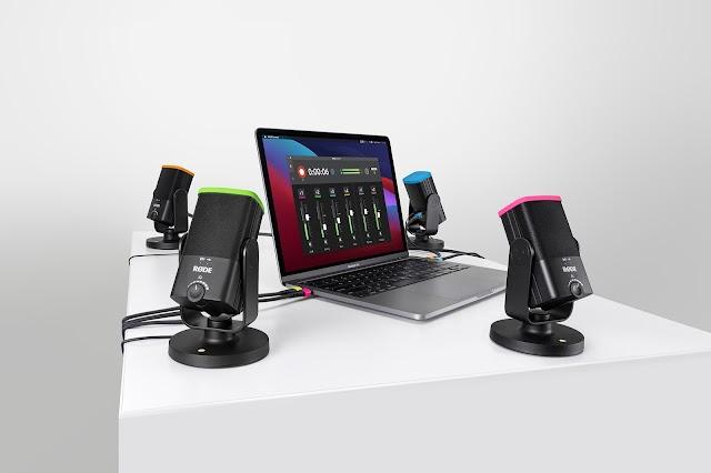 RØDE Connect y NT-USB Mini y su proceso para mejorar la grabación de podcast