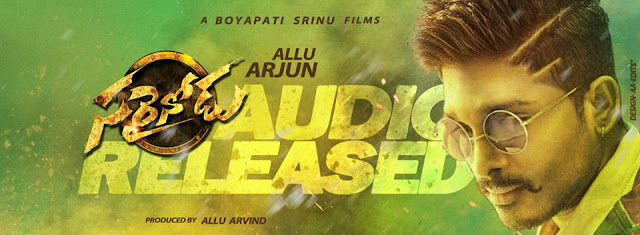 Watch Sarrainodu pre release event live from Vizag Ft Allu Arjun , Rakul Preet, Srikanth, Aadi, Catherine Tresa, Anjali, Pradeep Rawat. Music composed By S. S. Thaman directed By Boyapati Sreenu . Produced by Allu Aravind from the production house of Geetha Arts. Chief guest for the Event is Megastar Chiranjeevi