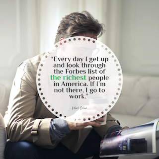Funny Work Quote of The Day - 1234bizz: (Every day I get up and look through the Forbes list of the richest people in America. If I'm not there, I go to work – Robert Orben)