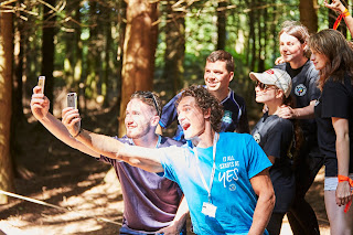 Selfie Fun on the High Ropes with an NCS Group