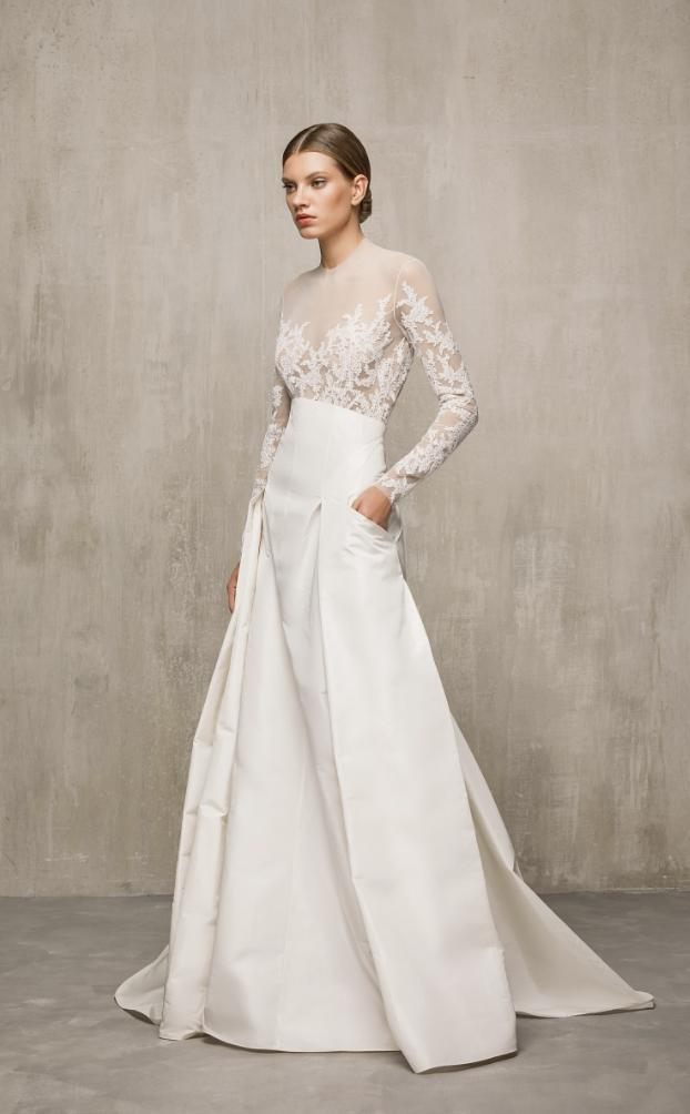 The Best Fall and Spring Non-Traditional Wedding Dresses You Need to See